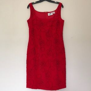 Nite Line Sequined Tank Dress
